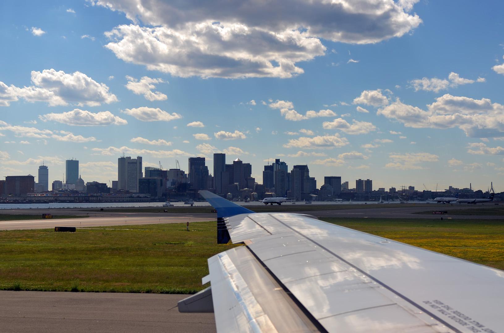 Flughafen Boston
